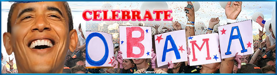 Celebrate Obama – Cakewalks